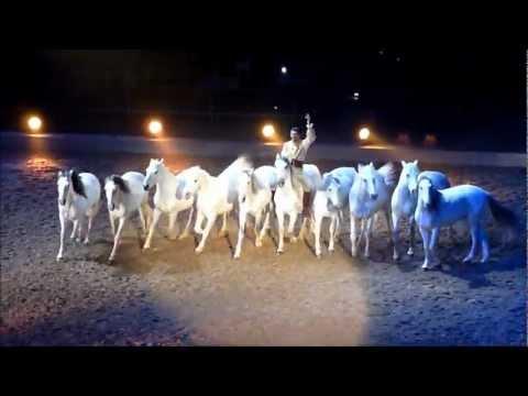 APASSIONATA 2011 [HD] - Dancing horse, Friesian horses, Dzhigit, White Lusitano