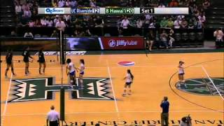 UH WOMENS VOLLEYBALL VS RIVERSIDE FUJITSU COOL PLAY
