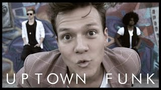 Uptown Funk ft. Bruno Mars - Tyler Ward & Two Worlds (Acoustic Cover) - Music Video