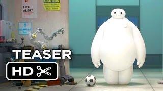 Big Hero 6 Official Teaser Trailer #1 (2014) - Disney Animation Movie HD
