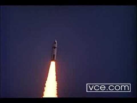 Polaris missile launch