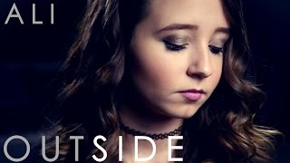 """Outside"" Calvin Harris Ellie Goulding - Cover by Ali Brustofski w/ Lyrics - Official Music Video"