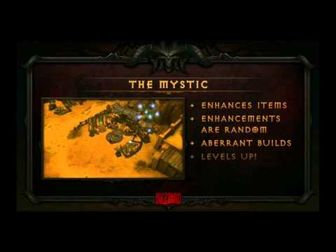 Blizzcon 2011 Diablo 3 Panel Part 1 Auction House & Gameplay
