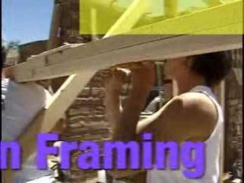 Straw Bale Home Construction Instructional Video