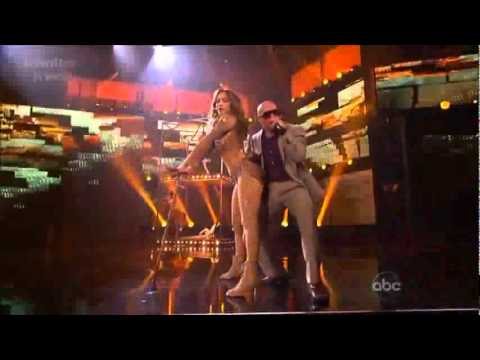 Jennifer lopez  Papi live & On the floor live at American Music Awards Pitbull