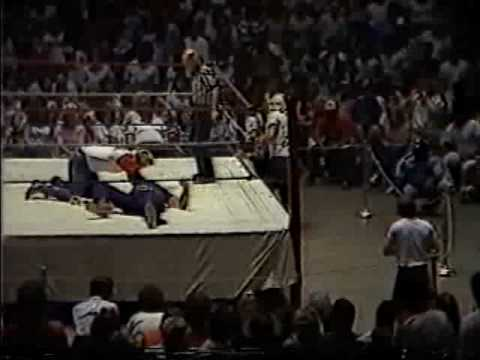 Tommy Rich & Eddie Gilbert vs. Phil Hickerson & The Spoiler (Tennessee Street Fight) 6-25-84