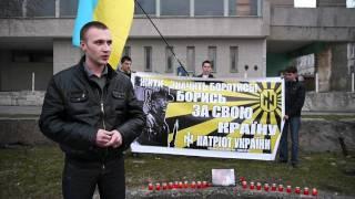 В Житомирі вшанували пам'ять М. Чайки