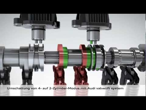 Audi A1 Sportback - cylinder on demand Animation