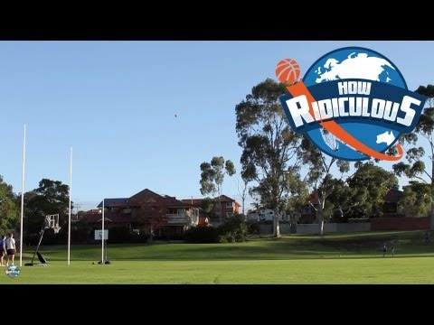AFL Footy Trick Shots - How Ridiculous