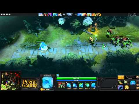 Dota 2: Purge plays Morphling