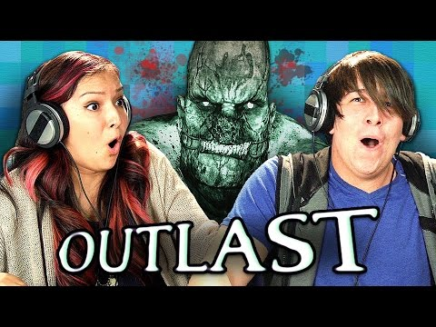 OUTLAST (Teens React: Gaming)