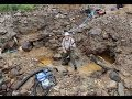 How to find lot of GOLD! Part 2  ...  (Gold-digging camp in Finnish Lapland 2013)