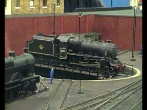 Milton Keynes Model Railway Society's Model Railway Show 2012 Part 1 (18th February 2012)