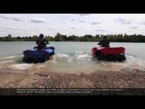 QUADSKI - Amphibious ATV/4 Wheeler