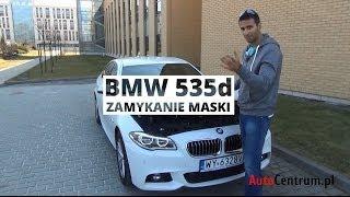 BMW serii 5 - nie zrzucać! Dociskać!