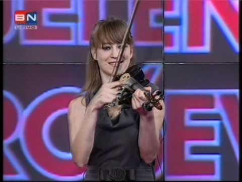 Jelena Urosevic-kolo violina uzivo, TV BN