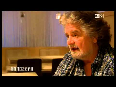 Beppe Grillo Anno Zero 2011