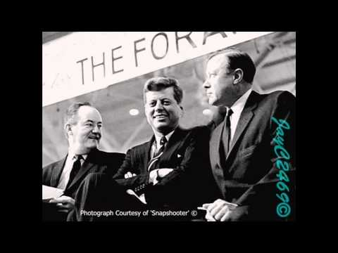 The Entire John F Kennedy 'Secret Society' Speech Uncut with Subtitles and Transcript