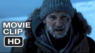 The Grey Movie Clip - Wolves Chasing Liam Neeson (2012) HD