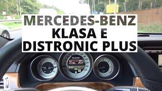 Mercedes-Benz Klasa E - działanie systemu Distronic Plus