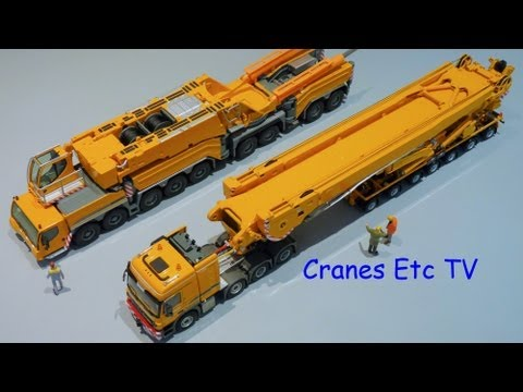 Cranes Etc TV: Liebherr LTM 11200-9.1 Review Part 6 - WSI Boom Carrier