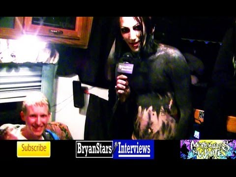 Motionless In White Interview #2 Fearless Friends Tour 2012
