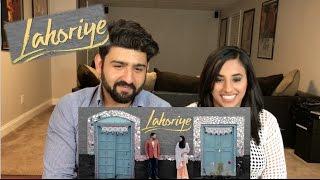 Lahoriye Trailer Reaction   Amrinder Gill, Sargun Mehta   Punjabi Film   Reaction by Rajdeep