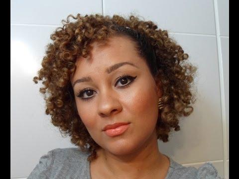 2 opções de penteados para cabelos curtos crespo/cacheado
