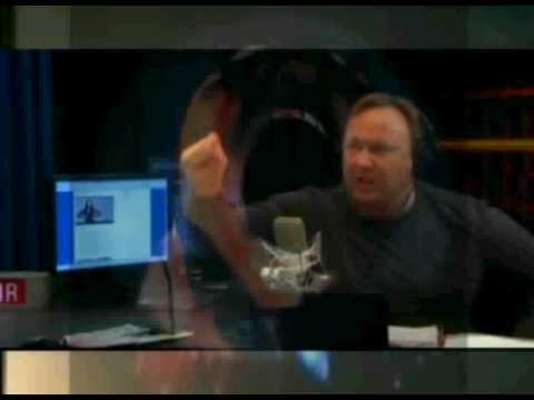 Alex Jones becomes a Super Saiyan