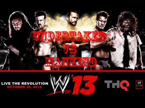 WWE 13 Game - New Gameplay - Undertaker vs Mankind (Spam War!)