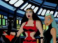 Фрагмент с начала видео - Batman Beyond Superman escapes
