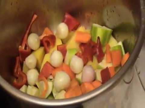 Çocuklara Vitaminli Sebze Yemeği