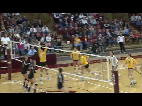 Concordia Volleyball Highlights vs. UW-Stevens Point - NCAA Tournament 1st Round - Nov. 11, 2011