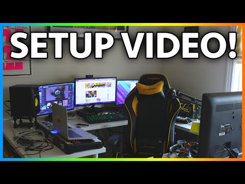 MrJamesGeary Setup Video 2014 - My Gaming Setup & Custom Gaming PC