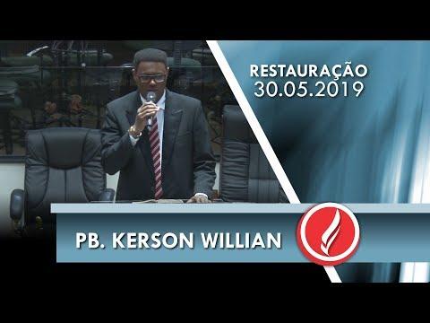 Pb. Kerson Willian | A obra de Jesus | Lc 7.39 | 30 05 2019