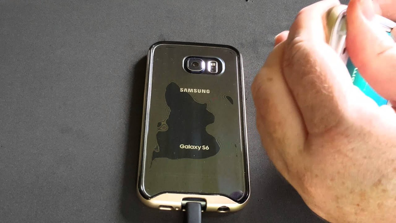 Samsung Galaxy S6 caseology clear Review