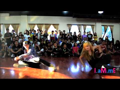 Di &quot;MOON&quot; Zhang and Olivia &quot;CHACHI&quot; Gonzales Dance Compilation