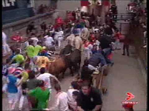 Quinto Encierro San Fermín 11 julio 07 - CANAL 6 NAVARRA