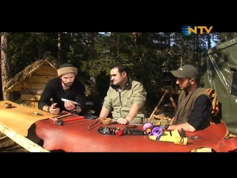 Doğada Tek Başına - Dağ Evi 10 Bölüm (11 04 2012)