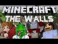 Minecraft The Walls! (Mini Game): w/ Kermit, BajanCanadian, and Woofless