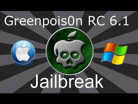 NEW Greenpois0n RC5 4.2.1 Untethered Jailbreak iPhone 4, 3Gs iPod Touch & iPad