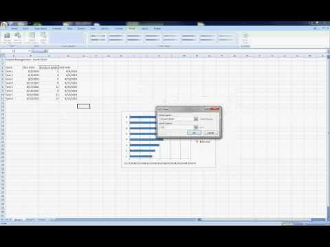How to create a Gantt Chart in Excel 2007 (In Plain Language)