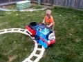 Carter's New Ride-On Thomas