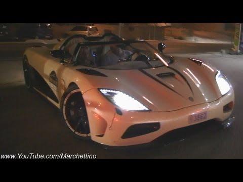 Koenigsegg Agera R CRAZY Accelerations!!