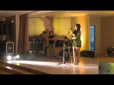 Sara Farah singing Al-Atlal at AFPA Gala Dinner 2011