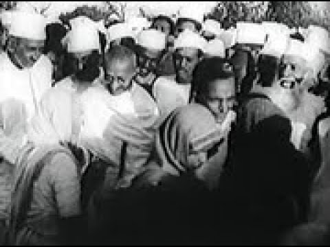 Footage - Gandhi - 1930 March 12, #01