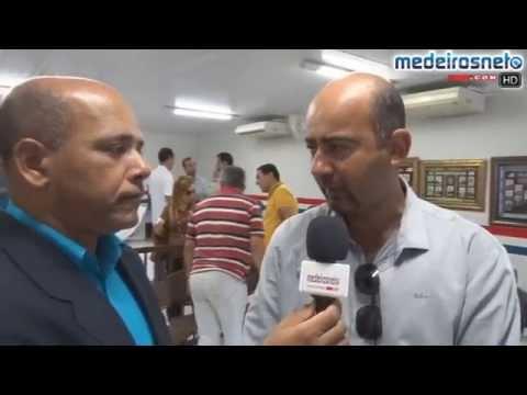 Reitor do IF Baiano visita instalações da Unidade de Ensino Profissionalizante , em Medeiros Neto
