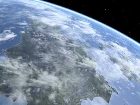 Beautiful views of planet Earth - Borneo from space
