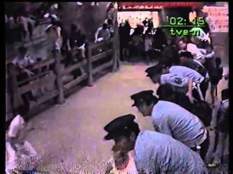 Encierro San Fermin Pamplona del día 9 7 1986