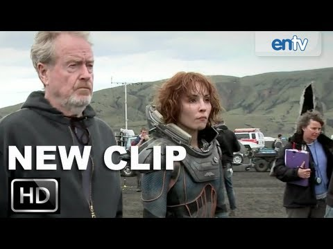 Prometheus Official Behind The Scenes Look: 'Making of' Feat. Ridley Scott & Michael Fassbender